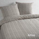 Day Dream Arhus - dekbedovertrek - Flanel - tweepersoons - 200x200/220 - Beige