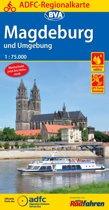 ADFC-Regionalkarte Magdeburg und Umgebung 1:75.000