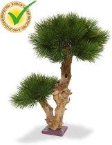Pinus Bonsai kunstboom 55 cm op voet - uv bestendig