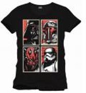 Merchandising STAR WARS - T-Shirt Evil Gallery - Black (M)