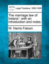 The Marriage Law of Ireland