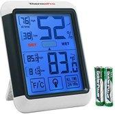 ThermoPro TP-55 - Binnen Temperatuur- en vochtigheidsmeter - Wit