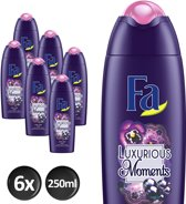 Fa Douche gel Luxurious Moments - 6x 250 ml - Voordeelverpakking