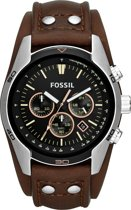 Fossil CH2891 - Horloge - 44 mm - Bruin