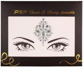 Face & Body Jewels All-In-One Glitter sticker Model A