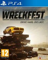 Cover van de game Wreckfest PS4