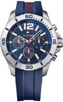 Tommy Hilfiger TH1791142 horloge heren - blauw - edelstaal