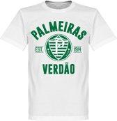 Palmeiras Established T-Shirt - Wit - XXL