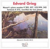 Grieg: Mozart's piano sonatas rewritten for two pianos