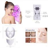 Led Gezichtsmasker Anti Rimpel Huidverzorging – Lichttherapie – Litteken Verwijderaar – Skin cleanser – Huidverzorgings masker – Gezichtsbehandeling – Anti Aging Masker – Huidverzorg - Huidverjongingsapparaat