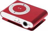 Mini MP3 Speler - Rood