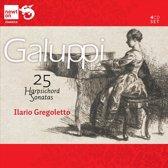 Baldassarre Galuppi: 25 Harpsichord Sonatas