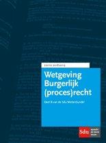 Boek cover Educatieve wettenverzameling - Wettenbundel Burgerlijk (proces)recht deel B 2018-2019 van  (Paperback)
