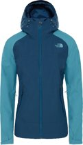 The North Face Stratos Jacket Jas Dames - Blue Wing Teal / Storm Blue