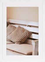 Henzo Driftwood Fotolijst - Fotomaat 60x80 cm - Wit