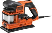 BLACK+DECKER KA330E Vlakschuurmachine - Duosand - 270 W - 115 x 230 mm schuurplateau