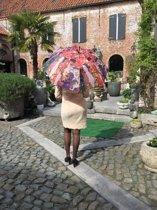 "Paraplu ""The Virgin"" Van Gustav Klimt"