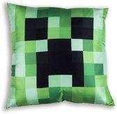 Minecraft - Sierkussen - 40x40 cm - Groen