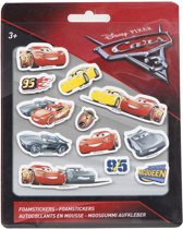 Disney Cars 3 Foamstickers Small