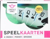 Longfield Games Speelkaarten In Etui 100% Plastic