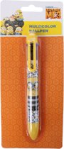 Minions Kleurenpen 6 Kleuren Geel 14 Cm