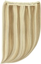 Remy Human Hair extensions Quad Weft straight 20 - blond 18/613#