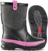 Nokian Footwear - Rubberlaarzen -Hanki- (Kids) zwart/rose, maat 34 [15731207-118-34]