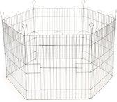 Beeztees Konijnenren - 105 x 105 x 58 cm - Verzinkt - 6 Panelen