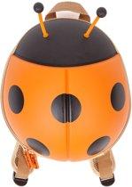 CKB - Kleuter rugzak Orange Ladybird Toddler Rucksack School Bag Backpack