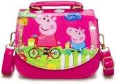 Peppa pig handtas - roze tasje voor kinderen met schouderband