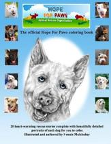 Hope for Paws Official Keepsake Coloring Book