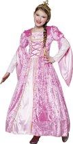 3 stuks: Prinses Rosanna Tienerkostuum - 10-12 jaar