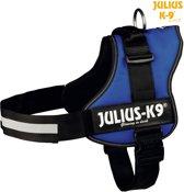 Julius K9 IDC Powertuig/Harnas - Maat 3/82-115cm - XXL - Blauw