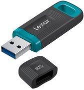 Lexar JumpDrive USB flash drive 32 GB 3.0 (3.1 Gen 1) USB-Type-A-aansluiting Zwart, Blauw