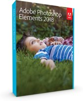 Adobe Photoshop Elements 2018 - Engels - Windows / MAC