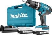 Makita 18 V Klopboor-/schroefmachine - HP457DWE10