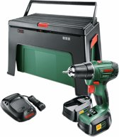 Bosch PSR 1800 LI-2 Accuschroefboormachine - Incl. workBox - Incl. 1-uurslader en 2x 18 V Li-Ion accu (1,5 Ah)