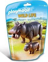 Playmobil Nijlpaard met jong - 6945