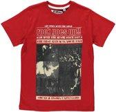 Losan Jongens Shirt Rood - Maat 128