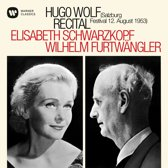 Hugo Wolf Recital - Salzburg Festival 12. August 1953