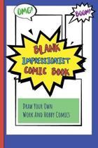Blank Impressionist Comic Book