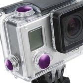 3 PCS TMC aluminium geanodiseerde kleurknoppen set voor GoPro Hero 3+
