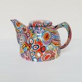 Design theepot - Judy Napangardi Watson - Aboriginal collectie