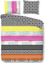 Good Morning Merkis - Dekbedovertrek - Lits-jumeaux - 240x200/220 cm + 2 kussenslopen 60x70 cm - Multi kleur