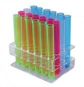 Barproducten.nl Plastic tray voor reageerbuisjes S vorm - 24 gaats