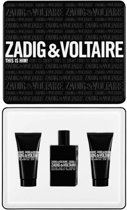 Zadig & Voltaire This Is Him giftset 150 ml