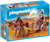 Playmobil History: Romeinse Strijdwagen Met Tribuun (5391)