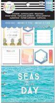 Me and My Big Ideas - Happy Planner Note Cards/Sticky Note Multi Pack - Beach Vibes - 394Pieces