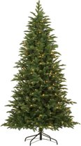 Black box - kerstboom led wilmington maat in cm: 215 x 119 groen 260l