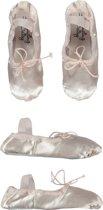 Balletschoen Satijn Roze - (15,5cm) Schoenmaat 26